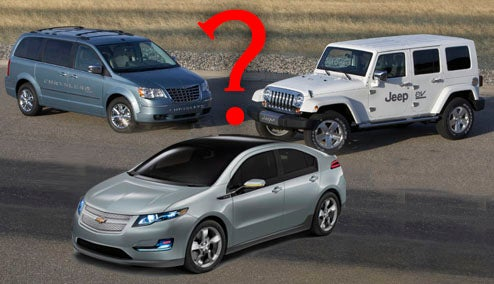 How Do The Chrysler Hybrids Match The Volt's EV Range?