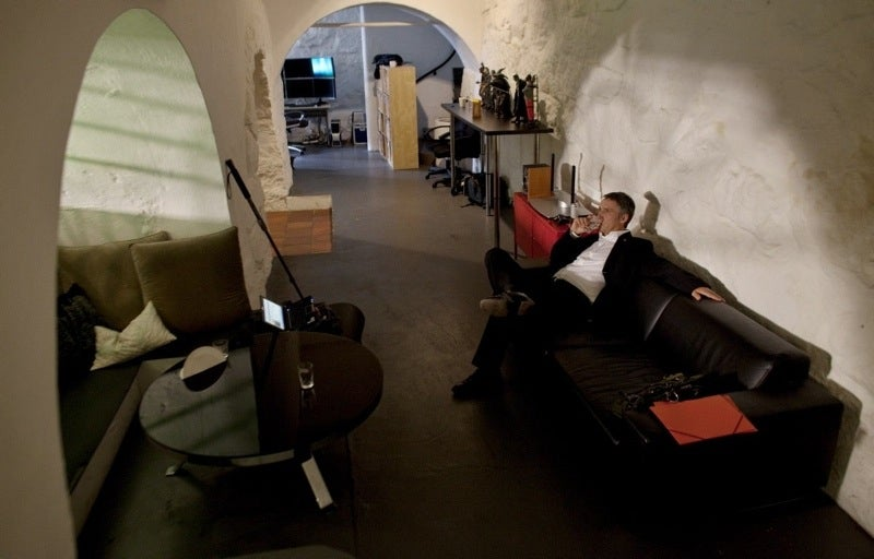 Norwegian PM's Monitor Rig Surely Doubles As Tanning Bed During Long Winter Months