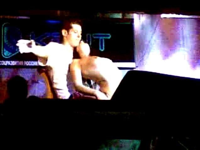Let's Watch Evgeni Malkin Get A Lap Dance (NSFW)