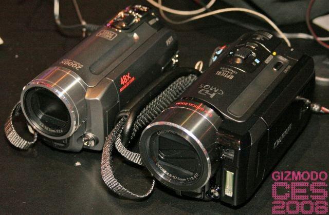 Canon's HD Vixia HF10 and HF100 Need No Tape