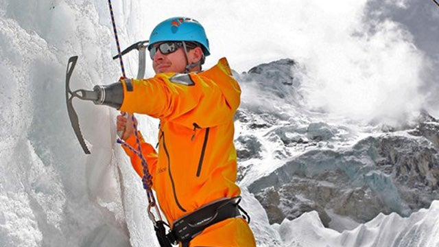 One-Armed Afghan War Vet to Climb Everest with Badass Prosthetic Ice-Pick
