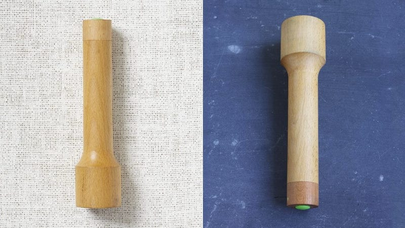 A Stylish Wooden Flashlight Keeps Up Appearances When the Power's Out