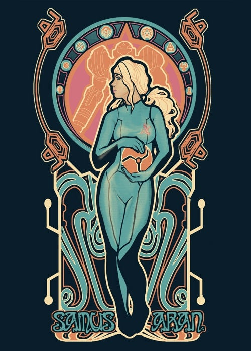The Art Nouveau of scifi heroines