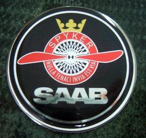 Rebadge It Now: Saab/Spyker Badges On eBay