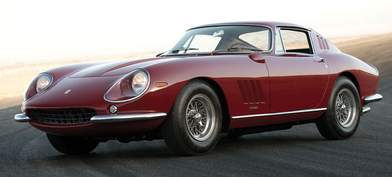 Steve McQueen's '67 Ferrari 275 GTB/4 Could Fetch A Record $12 Million