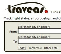 Traveas Tracks Flights, Sends Mobile Alerts