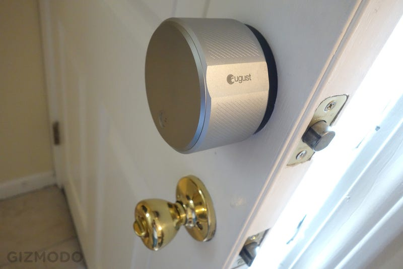 August Smart Lock And Connect Review I Ll Use Keys Thanks