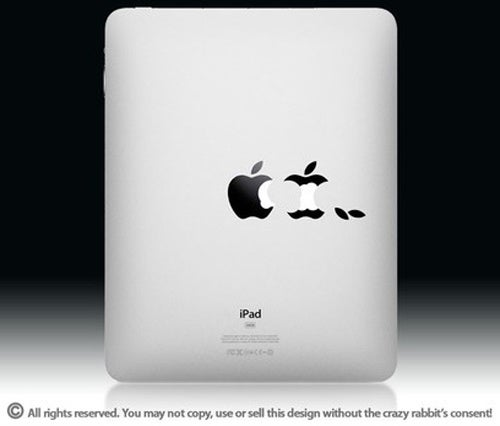An iPad Decal For Apple's Core Audience