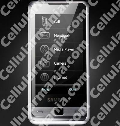 Samsung i900 Touchscreen Phone with Gesture Control?