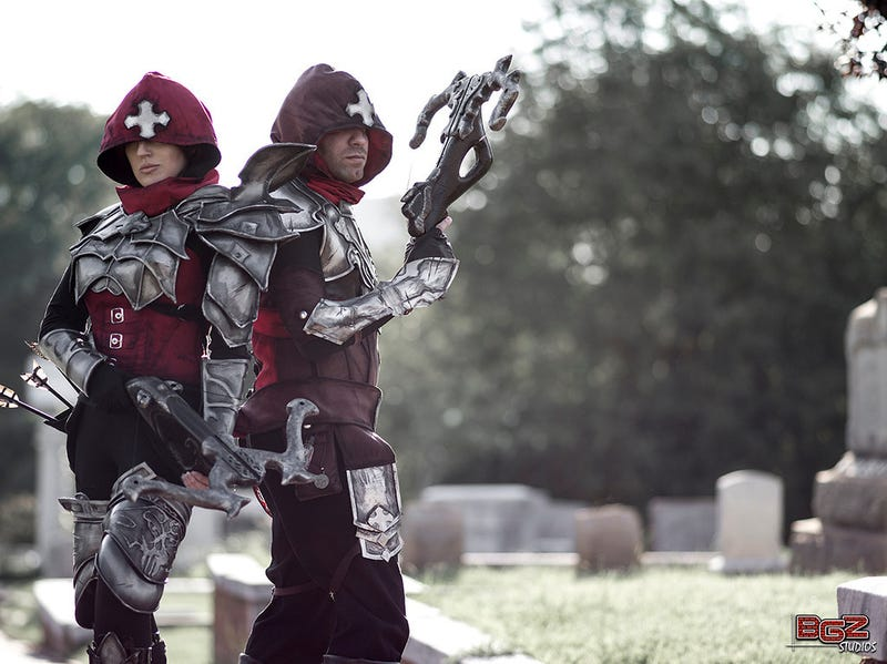 Diablo III's Demon Hunters Come to Life in These Stunning Photos