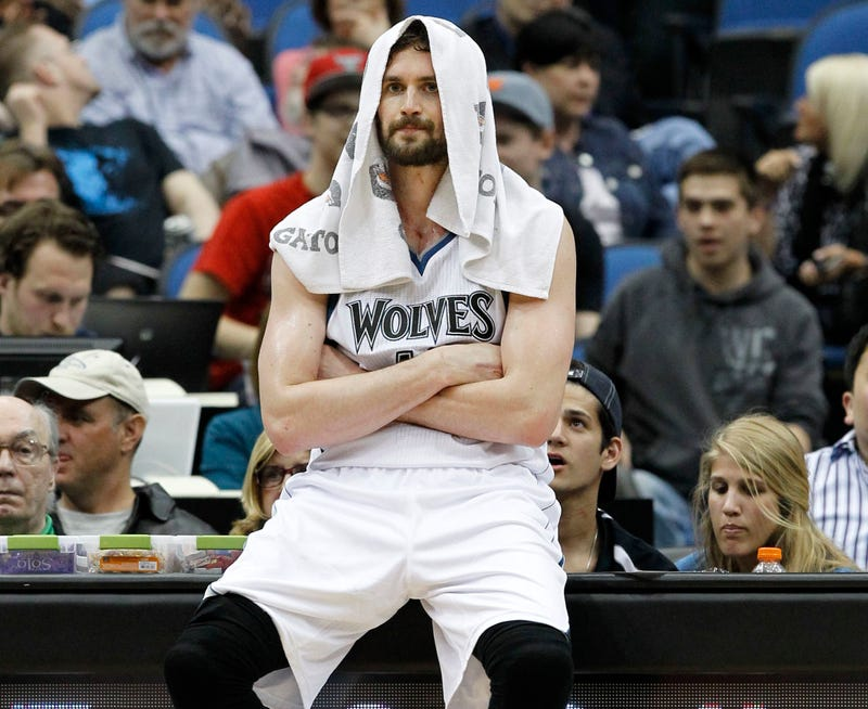 Reports: Kevin Love Wants Out Of Minnesota, One Way Or The Other