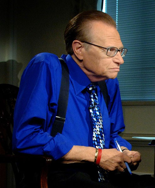 A Day At The Races, With Larry King!