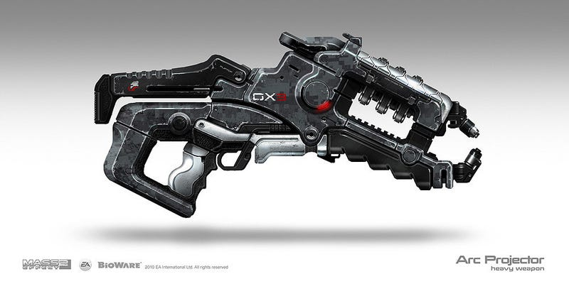 The Deadly, Sexy Guns Of The Mass Effect Universe