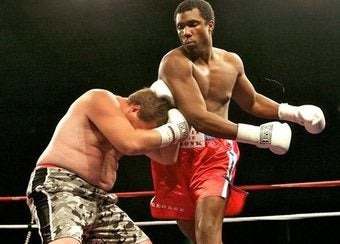 "George Foreman III Wins First Professional ""Fight"""