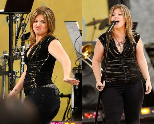 Kelly Clarkson Slimmed Down On Self Via Photoshop