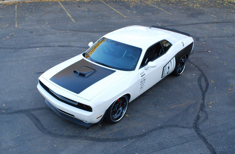 Widebody Challengers From Classic Design Concepts Debuting at SEMA