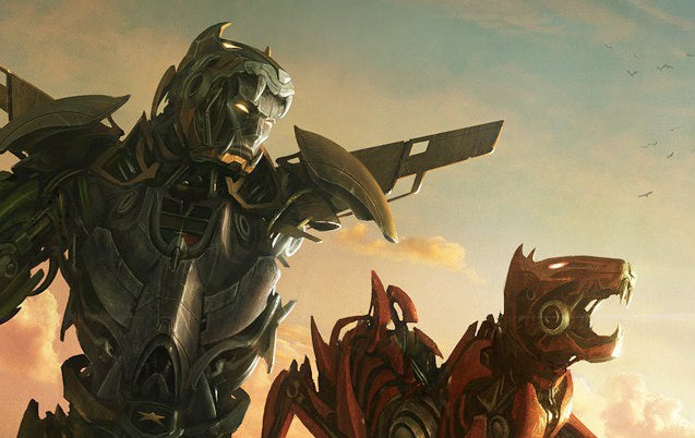 Form blazing sword! Awesome new Voltron concept art gives us hope for mega-feline mayhem