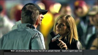 ESPN's Hollywood-Style Sam Ponder Camera Angle Was Weird