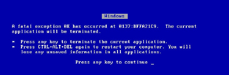 MaximumPC Demystifies the BSOD