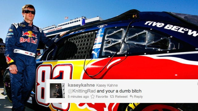 NASCAR's Kasey Kahne apologizes for calling mom of three a 'dumb bitch'