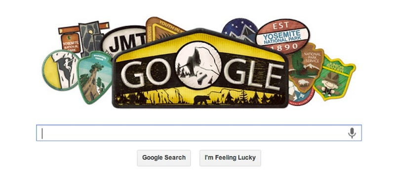"""Today's """"Google Doodle"""" Accidentally Mourns Closing of National Parks"""