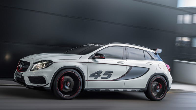 The Mercedes-Benz GLA45 AMG Is A 355-HP Crossover Monster