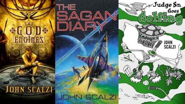 Buy some John Scalzi books, support breast cancer screenings!