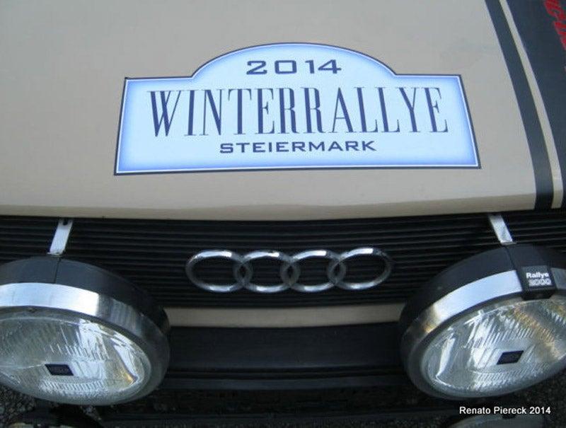 Nice Price or Crack Pipe? Audi 80 TSD Rally Car