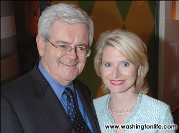 Profiles In Courage: Newt Gingrich Finally Opens Up About Doing It With A Woman Lewinsky's Age The Whole Time He Was Leading Impeachment!!