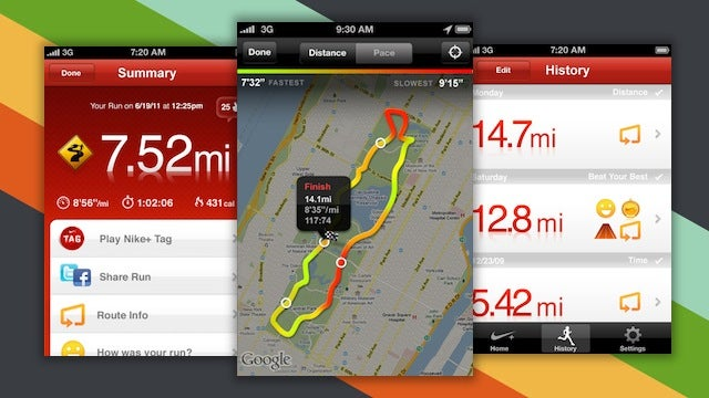 Nike+ GPS App Free for a Limited Time