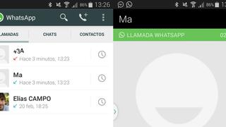 Cómo activar y cómo funcionan las nuevas llamadas de voz en WhatsApp