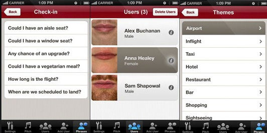 iPhone Translation App Speaks Three Languages With Your Mouth