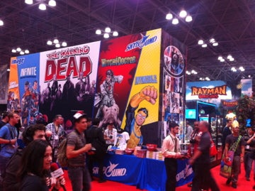 NYCC 2011 Day One in Pictures