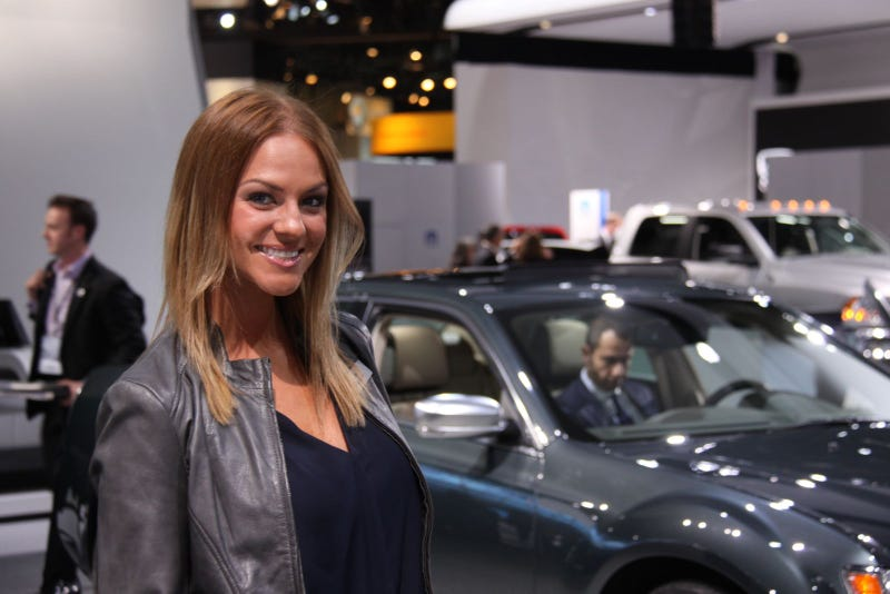 The Booth Professionals Of The 2012 Detroit Auto Show