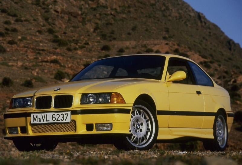 BMW Color of the Day: Dakar Yellow