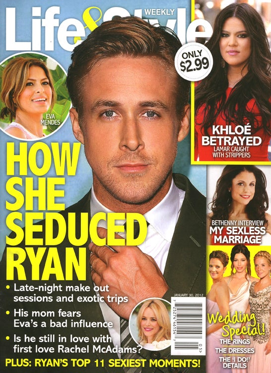 This Week in Tabloids: How To Seduce Ryan Gosling