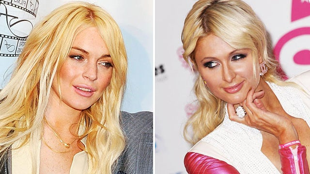 Lindsay Lohan Has a 'Huge Crush' on Paris Hilton