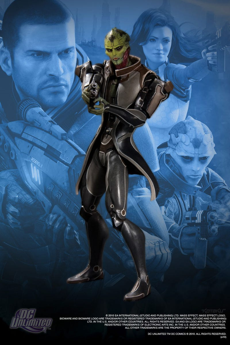 Get A Good Look At Those Mass Effect 2 Figures
