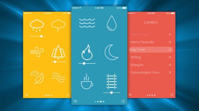 Noisli for iPhone Creates Customizable Background Noise