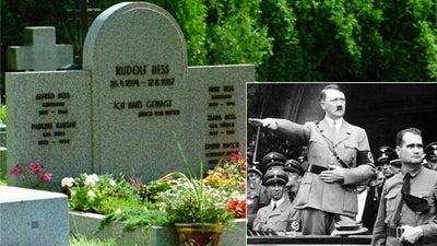 Rudolf Hess Dug Up to Keep Out Pesky Neo-Nazi Pilgrims
