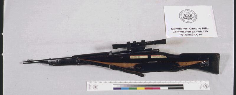 A gyilkos fegyver: Carcano Mod. 91/38