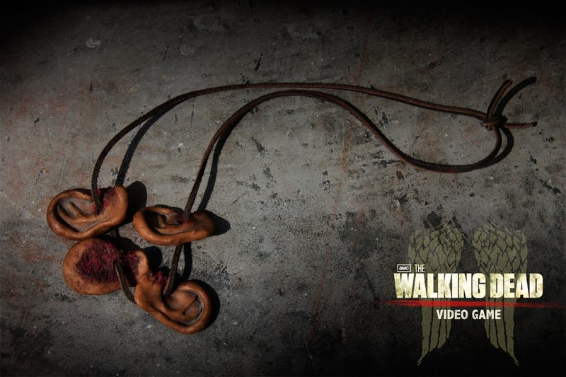Walking Dead Zombie-Ear Necklaces and Lord of the Rings murals: Comic Con Radvertising