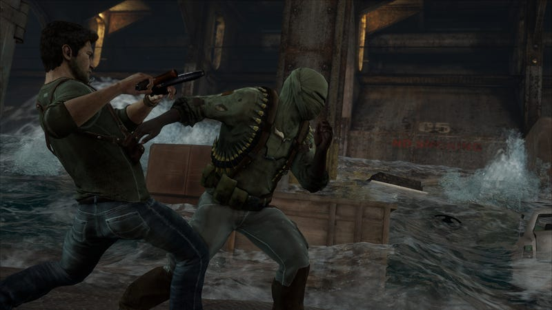 The Newest Uncharted 3 Screenshots Toss Nathan Drake onto a Dangerous Plane