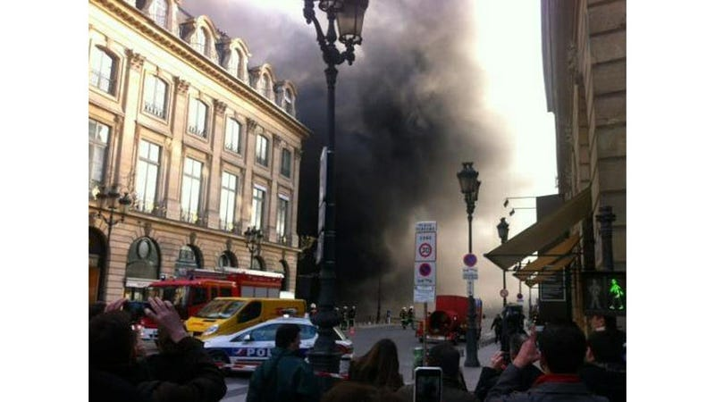 Paris Is Burning: Giant Fire Breaks Out in Historic Neighborhood