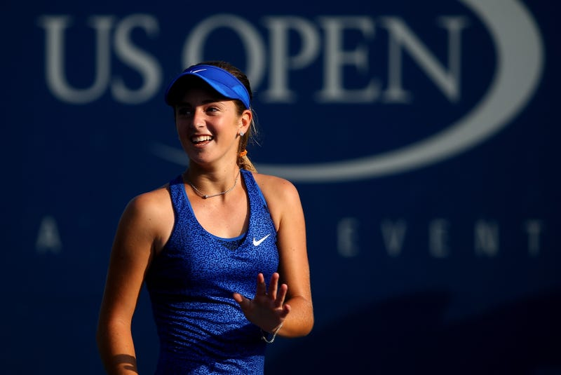 15-Year-Old Catherine Bellis Upsets 12-Seed At U.S. Open