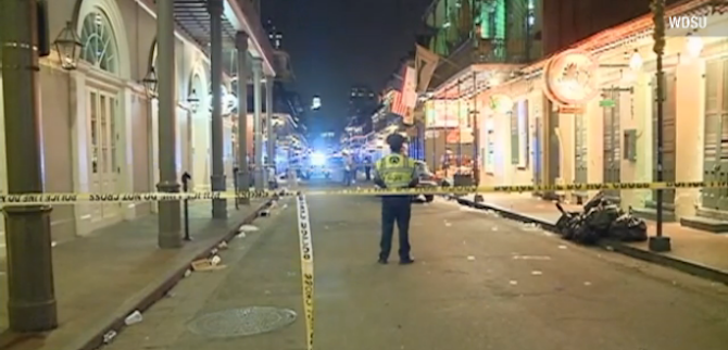 Nine Injured in Shooting on Bourbon Street in New Orleans