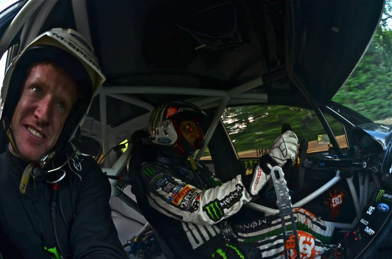 How I tricked real racers into believing I was Ken Block