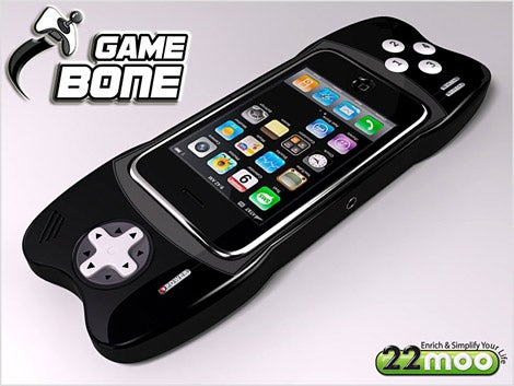 GameBone Accessory Will Turn iPhones Into PSP Look-Alikes