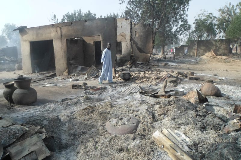 Children Reportedly Burn to Death After Boko Haram Suicide Bombers Attack Nigerian Village, Killing 86