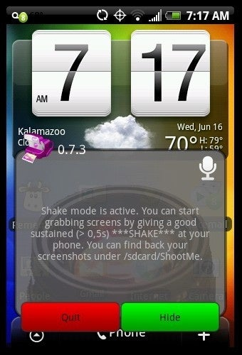 ShootMe Is a Simple Shake-Activated Screenshot Tool for Android